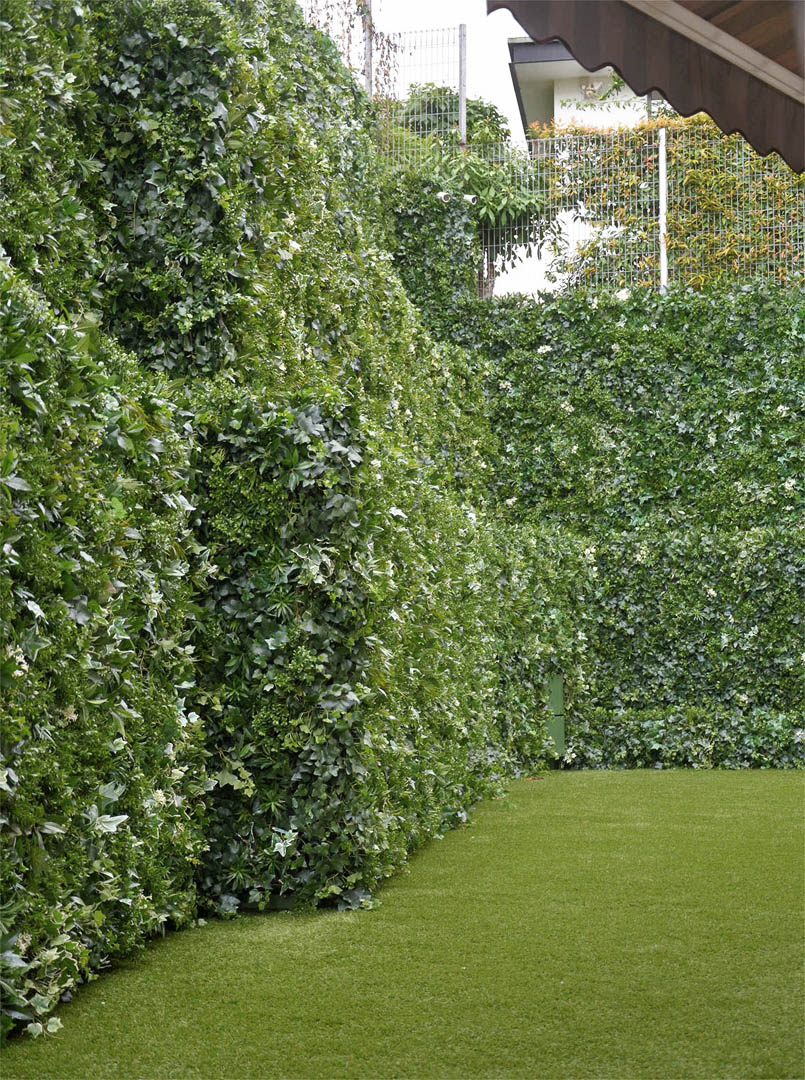 521 fake landscapes 8m tiered corner living wall 521