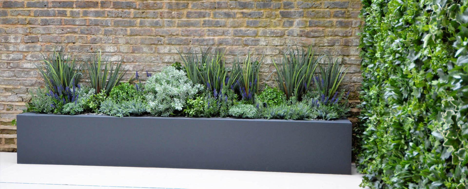 720 Fake Landscapes mixed modern planter
