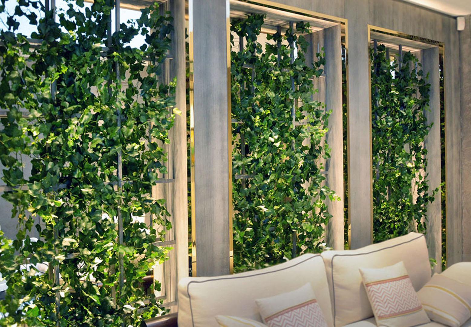 890 fake landscapes natural look ivy on clients framework AP